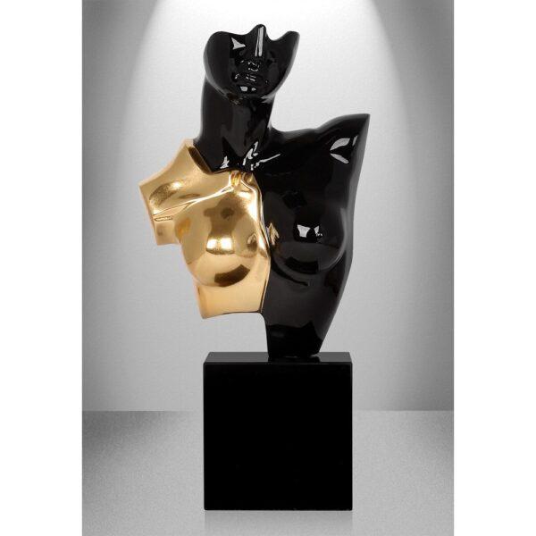 scultura-in-resina-busto-di-amazzone-oro-argento (3)