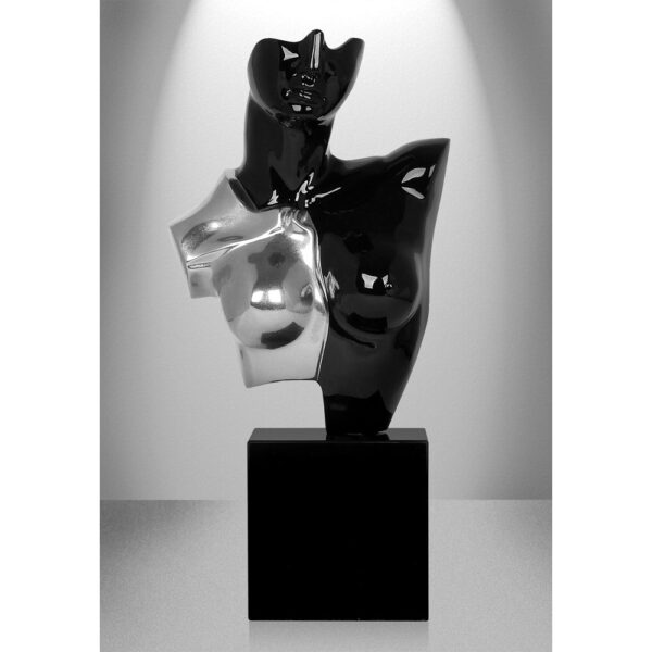 scultura-in-resina-busto-di-amazzone-oro-argento (7)