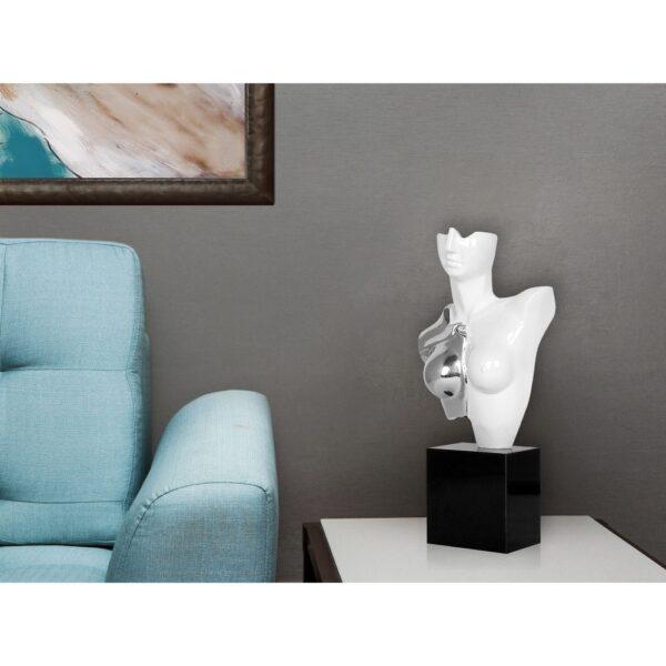 scultura-in-resina-busto-di-amazzone-oro-argento (8)