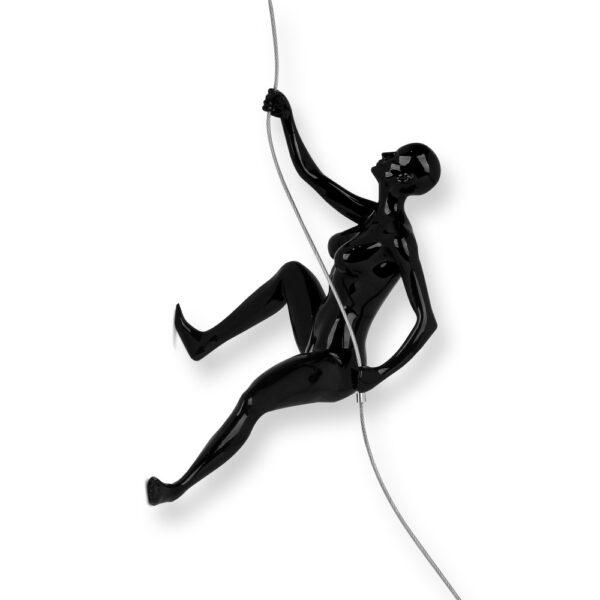 scultura-in-resina-scalatrice-nero-bianco-rosso (1)