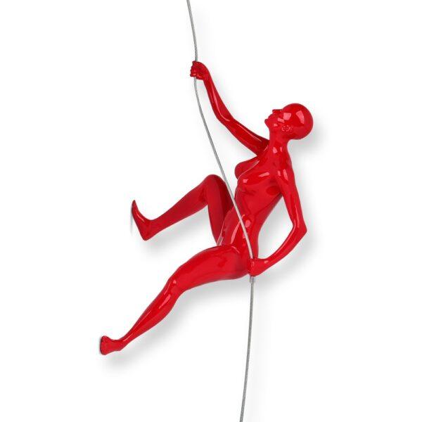 scultura-in-resina-scalatrice-nero-bianco-rosso (6)