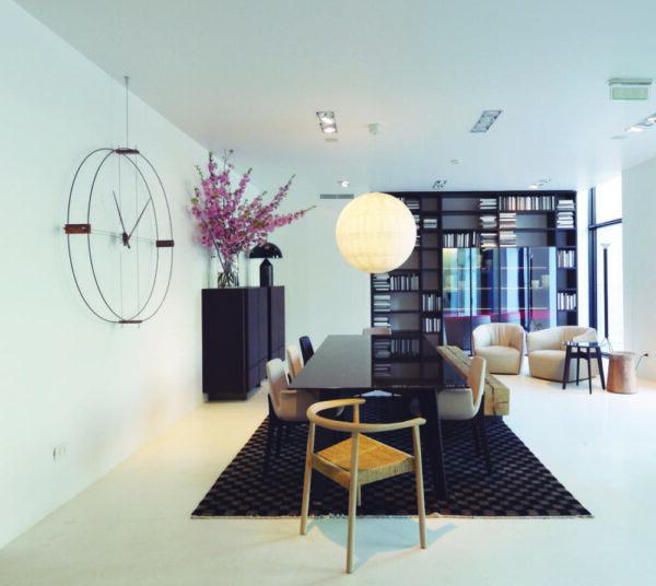 nomon-delmori-orologio-clock-design-fibra-di-vetro-nera-legno-noce (3)