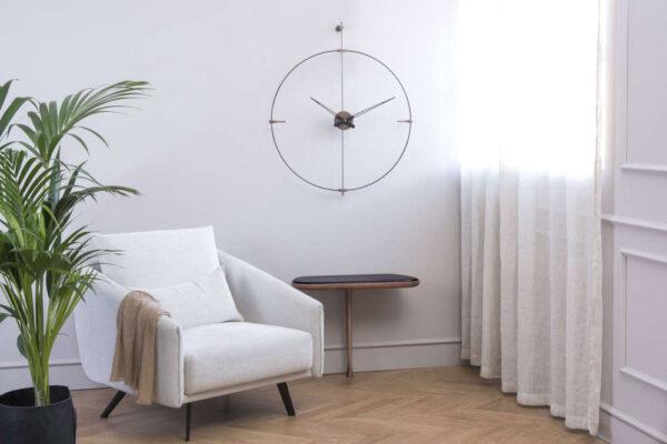 nomon-mini-bilbao-orologio-clock-design-fibra-di-vetro-nera-legno-noce (1)