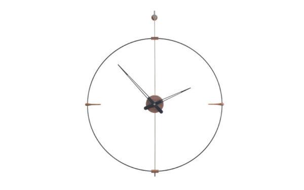 nomon-mini-bilbao-orologio-clock-design-fibra-di-vetro-nera-legno-noce (2)
