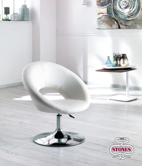 poltrona-poltroncina-armchair-ecopelle-kaki-bianco-white-marrone-brown-acciaio-stones (2)