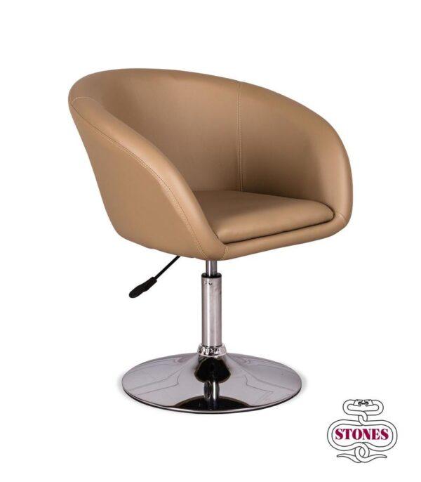 poltrona-poltroncina-armchair-lena-bianco-white-kaki-marrone-brown-stones-ecopelle (1)