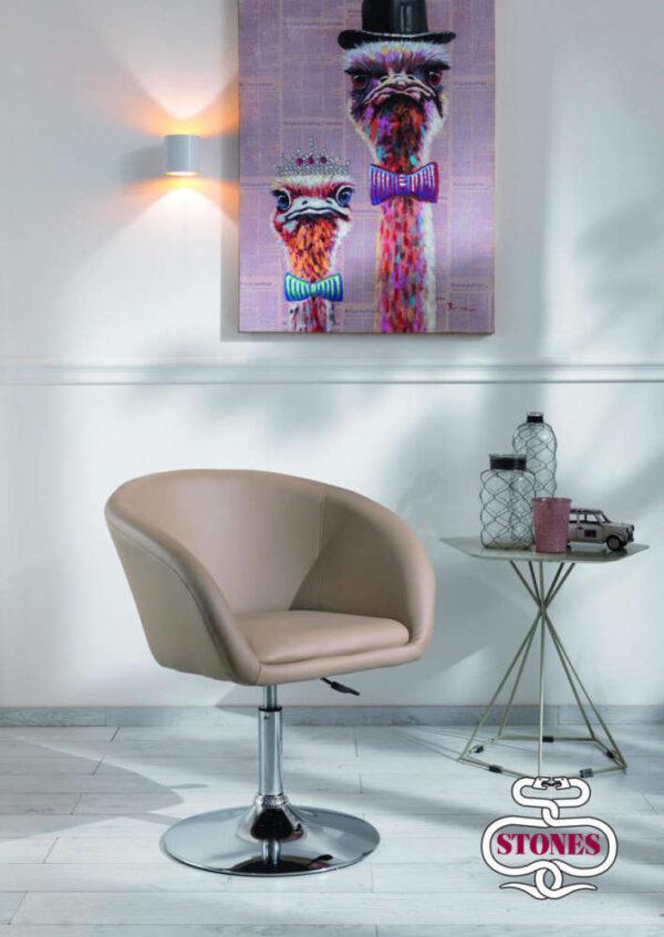 poltrona-poltroncina-armchair-lena-bianco-white-kaki-marrone-brown-stones-ecopelle (2)