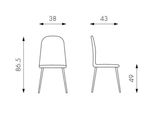 sedia-annalisa-stones-struttura-metallo-seduta-similpelle-imbottita (3)