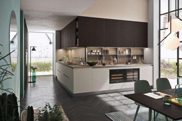 design-kitchen-cucina-moderna-modern-style-zone-shop-brunetti-home-evolution-evoluzione-laccata-opaca-lucida-piano-snack-legno-rovere-naturale-bianco-white-wood-luxury-modelli-cantinette- (7)