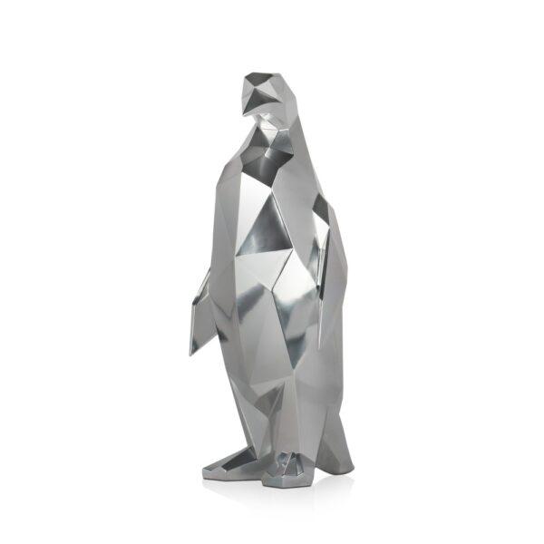 scultura-in-resina-pinguino-rosso-bianco-effetto-specchio (11)