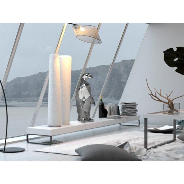 scultura-in-resina-pinguino-rosso-bianco-effetto-specchio (15)