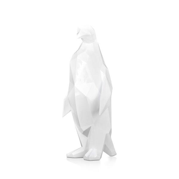 scultura-in-resina-pinguino-rosso-bianco-effetto-specchio (6)