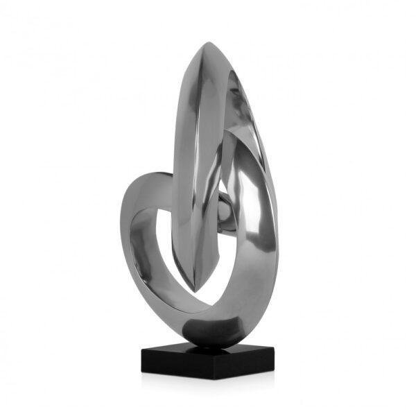 scultura_in_resina_effetto_specchio_base_in_marmo (3)
