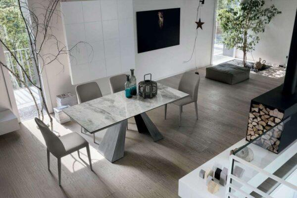 tavolo-taurus-base-silver-spazzolato-piano-arabescato