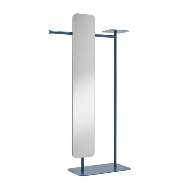 babele-servomuto-in-metallo-verniciato-blu-scuro-con-specchio-modello-l
