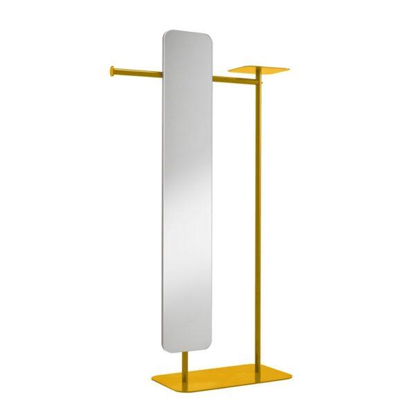 babele-servomuto-in-metallo-verniciato-giallo-ocra-con-specchio-modello-l