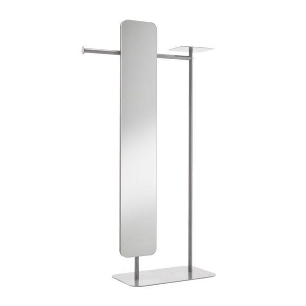 babele-servomuto-in-metallo-verniciato-grigio-con-specchio-modello-l
