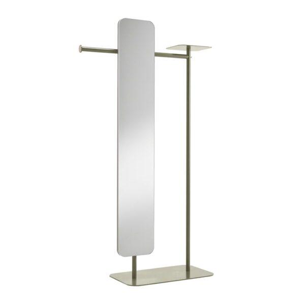 babele-servomuto-in-metallo-verniciato-grigio-fango-con-specchio-modello-l