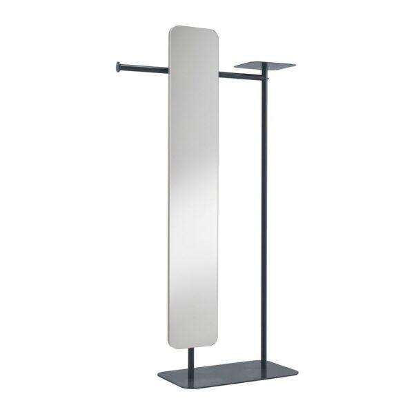 babele-servomuto-in-metallo-verniciato-grigio-scuro-con-specchio-modello-l