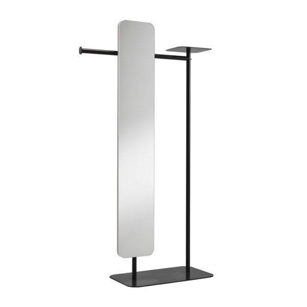 babele-servomuto-in-metallo-verniciato-nero-con-specchio-modello-l