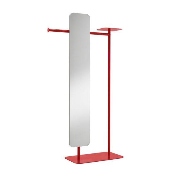 babele-servomuto-in-metallo-verniciato-rosso-con-specchio-modello-l