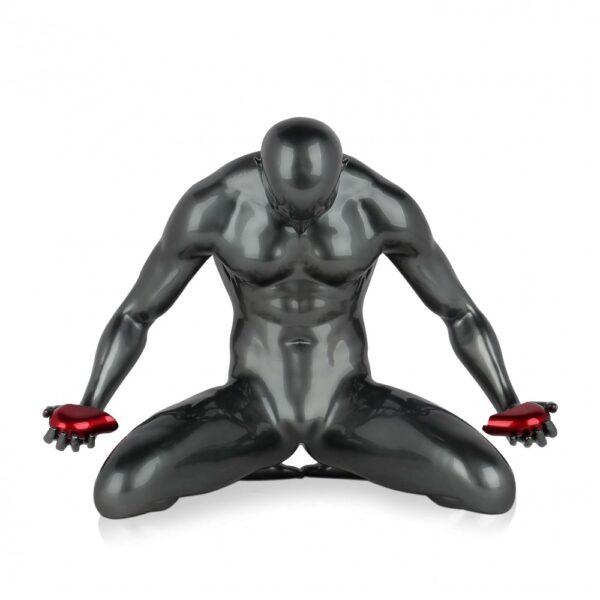 scultura_in_resina_cuore_spezzato_amore_uomo_nero_bianco_antracite (1)