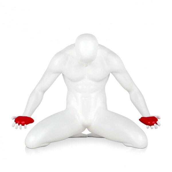 scultura_in_resina_cuore_spezzato_amore_uomo_nero_bianco_antracite (11)