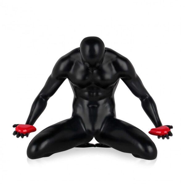 scultura_in_resina_cuore_spezzato_amore_uomo_nero_bianco_antracite (6)