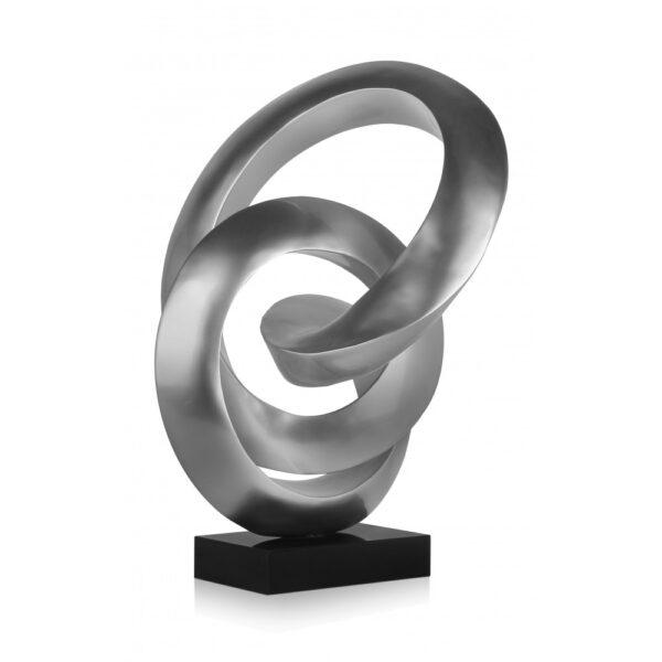 scultura_in_resina_flusso_continuo_base_in_marmo_bianco_effetto_metallo_nero (3)