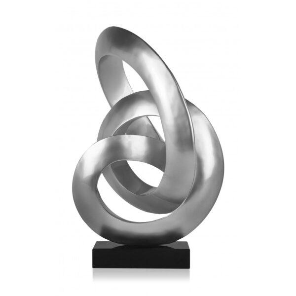 scultura_in_resina_flusso_continuo_base_in_marmo_bianco_effetto_metallo_nero (5)