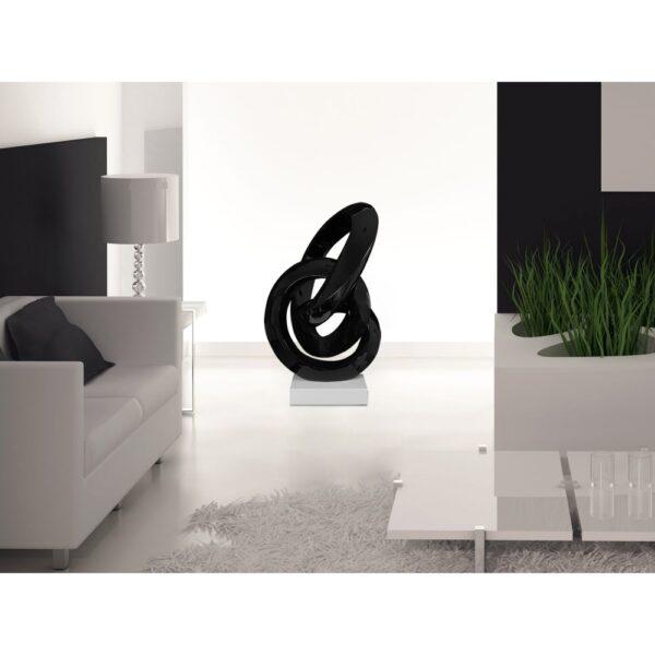 scultura_in_resina_flusso_continuo_base_in_marmo_bianco_effetto_metallo_nero (7)