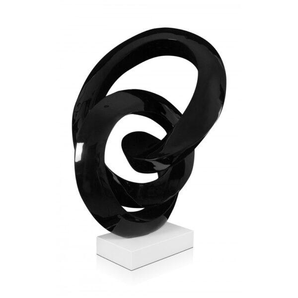 scultura_in_resina_flusso_continuo_base_in_marmo_bianco_effetto_metallo_nero (8)