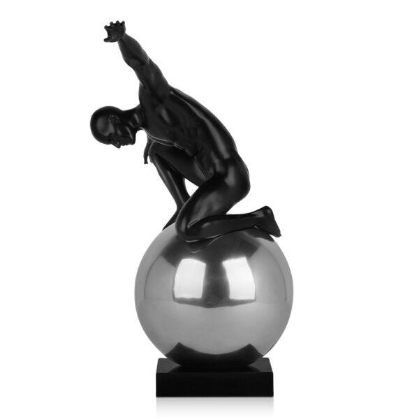 scultura_in_resina_potenza_sfera_effetto_metallo (4)