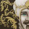 TMKG2_king marrone oro uomo